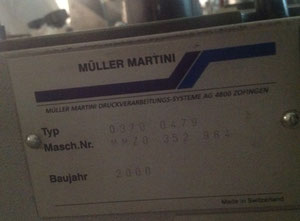 Muller MARTINI Bravo S saddle stitcher