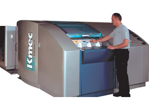 KMEC CS label cutter Envelopes making and printing machine