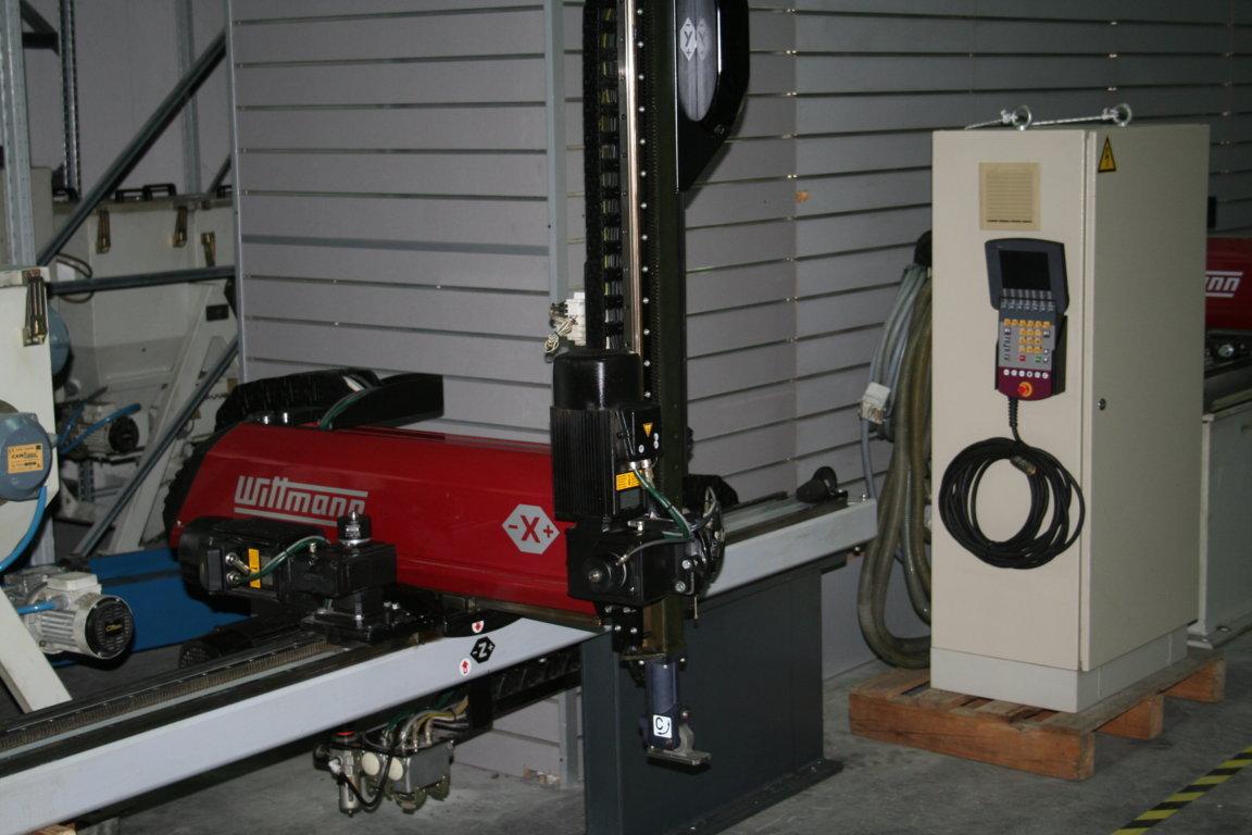 Robot cart siano wittman w 621 maquinas de segunda mano for Robot limpiafondos piscina segunda mano