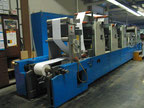 Giebeler R400 Web continuous printing press