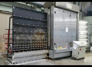 GTM LV2300 Glass washing / coating and printing machine