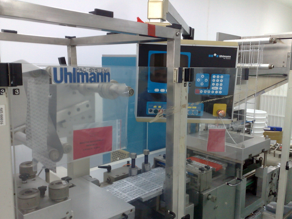 Uhlmann Pac-Systems UPS 2 ET Blister machine - Exapro