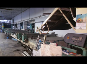 Buser flat bed rotary printing machine