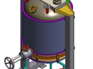 Atex Inox 316L Filter dryer 1m²