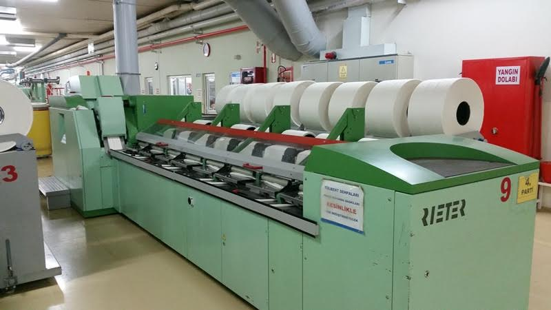 Rieter E65 Comber Spinning Machine Lap Former Exapro
