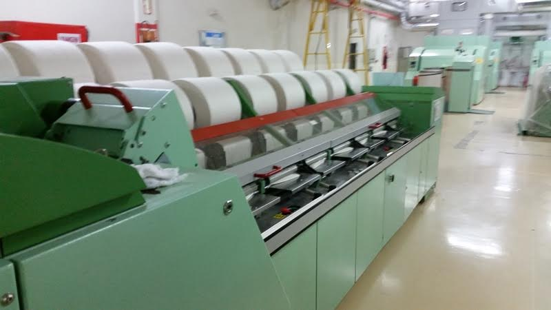 Rieter E65 Comber Spinning machine / Lap Former - Exapro