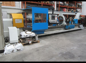 GIANA 560 X 6500 mm CNC heavy duty lathe