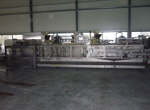 Used Bossar B-2500 STU/D Thermoforming - Form, Fill and Seal Line