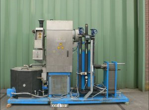 Used BKG TEW A-2000 Rotating sieve