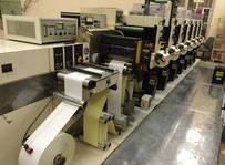NILPETER F-3000 Labels printing machine - flexo