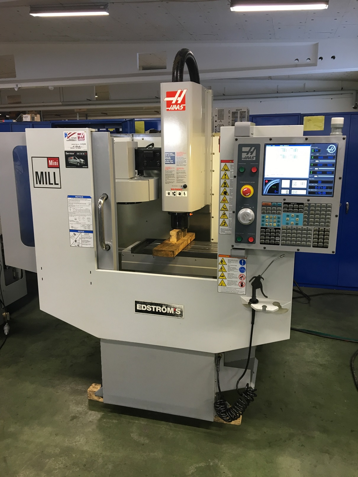 Haas Mini Mill Cnc Vertical Milling Machine Exapro