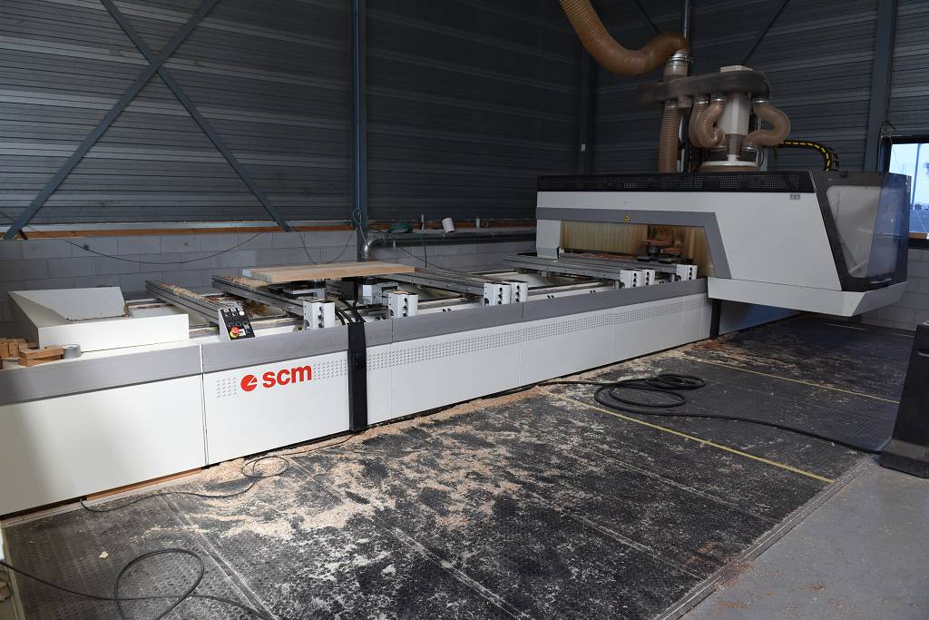 SCM RECORD 240NT TVN Wood CNC machining centre - 5 Axis ...
