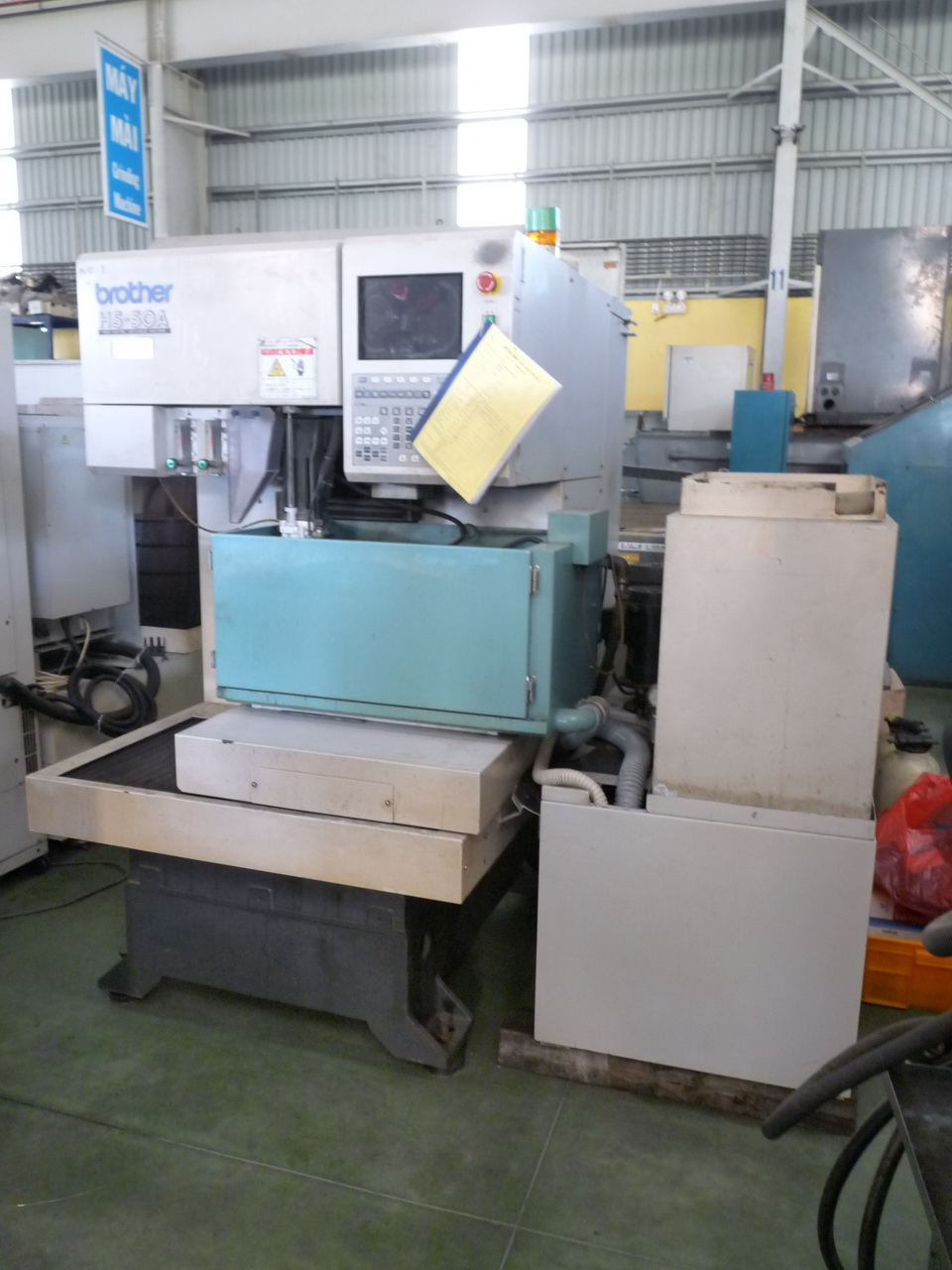 BROTHER HS 50A Wire cutting edm machine - Exapro