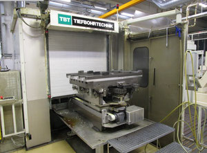TBT BWW 250 CNC Deephole Boring Machine with pallet-changer