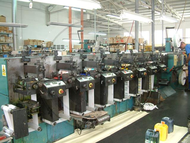 Nilpeter F200 Labels printing machine - flexo - Exapro