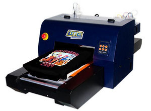 DTG K3Raptor Rotary textile printer