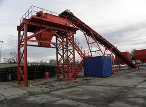 Mobile installation for mixing aggregates and bulk materials  - MIMKiMS MC 400-PT25M-KZ20T