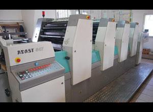 Ofsetový čtyřbarevný stroj Adast Adamov DOMINANT 547 P