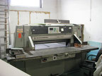 Used Wohlenberg 115 Paper guillotine