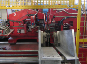 Transfluid REB 420-GRSM-2-2-VA shaping and threading machine for tube ends
