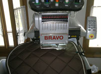 Melco bravo One head / multi-heads embroidery machine