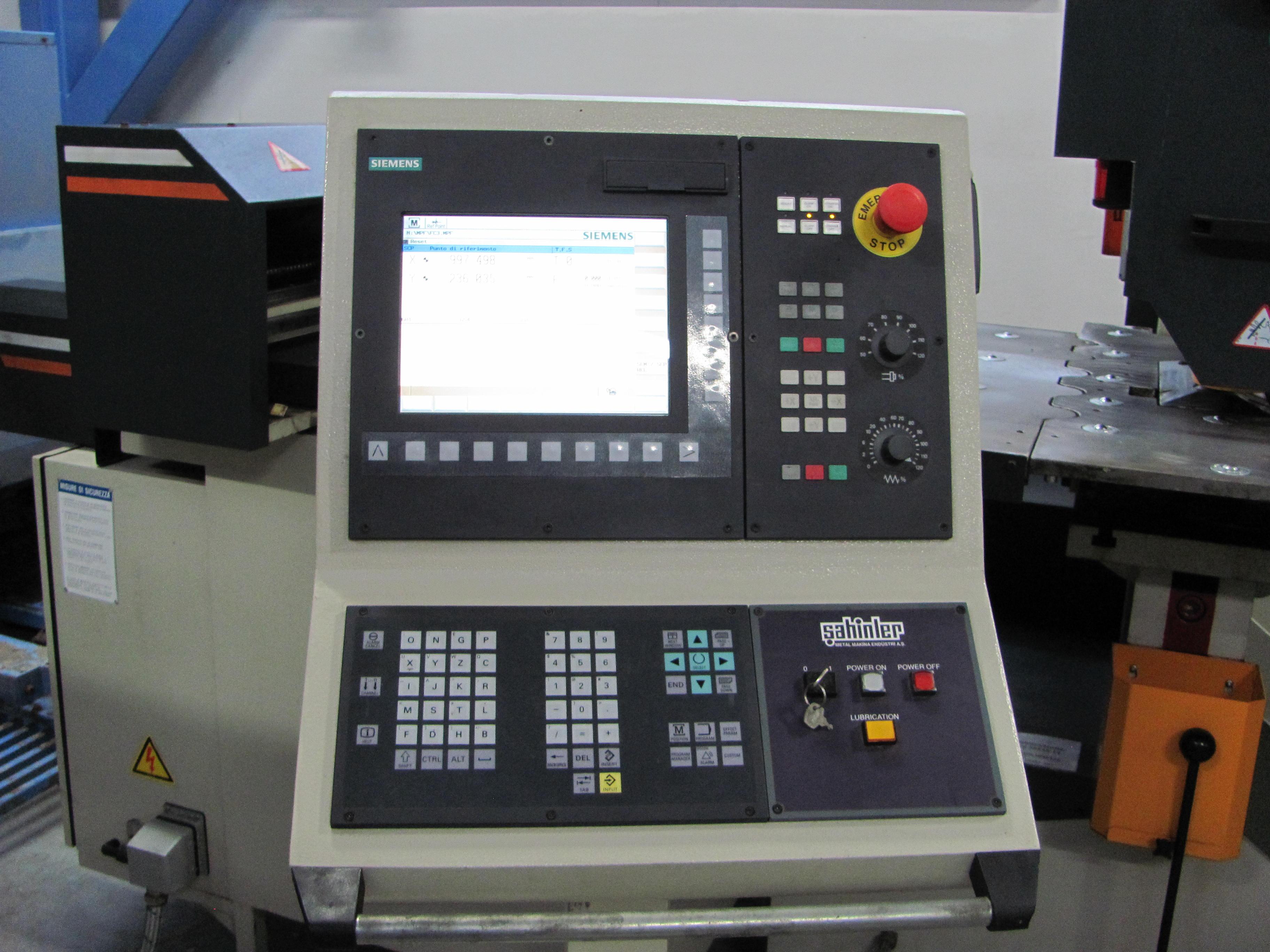 Used Sahinler Hmp 115 Punching Machine Nibbling Machine