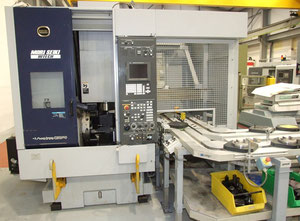 Mori Seiki CS250Y vertical turret lathe with cnc