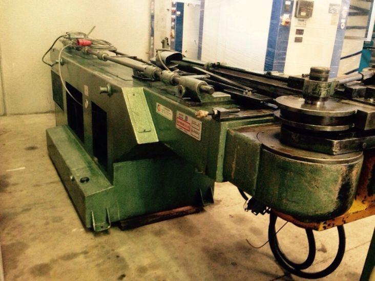 Curvadora de tubo curvatubi blm b 60 a maquinas de segunda for Curvadora de tubos segunda mano