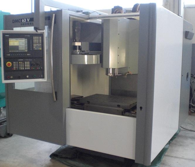 Dmg deckel maho dmc 63 v bearbeitungszentrum vertikal for Dmg deckel maho