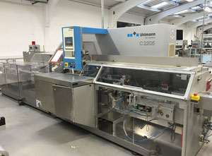 Used Uhlmann C2205 Carton Machine