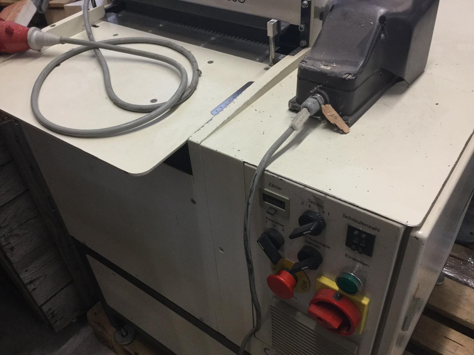 renz binder machine