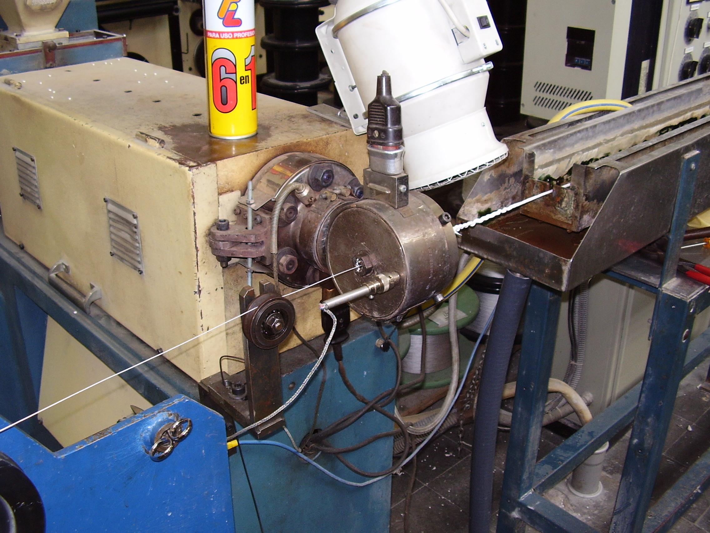 Used Zumbach USYS 100 BARU13S Extrusion - Single screw