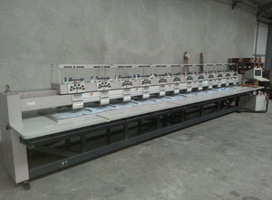 Used ZSK X 1209-495 One head / multi-heads embroidery machine