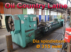 Potisje PA50 Ø 1100 x 6250 mm heavy duty lathe