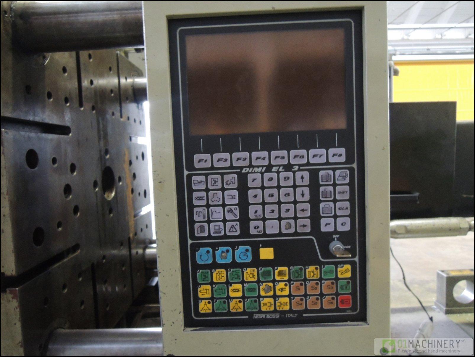 negri bossi injection molding machine