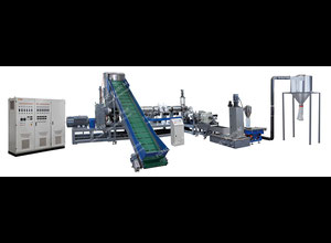 Waste PP PE Plastic Recycling Granulating Machine