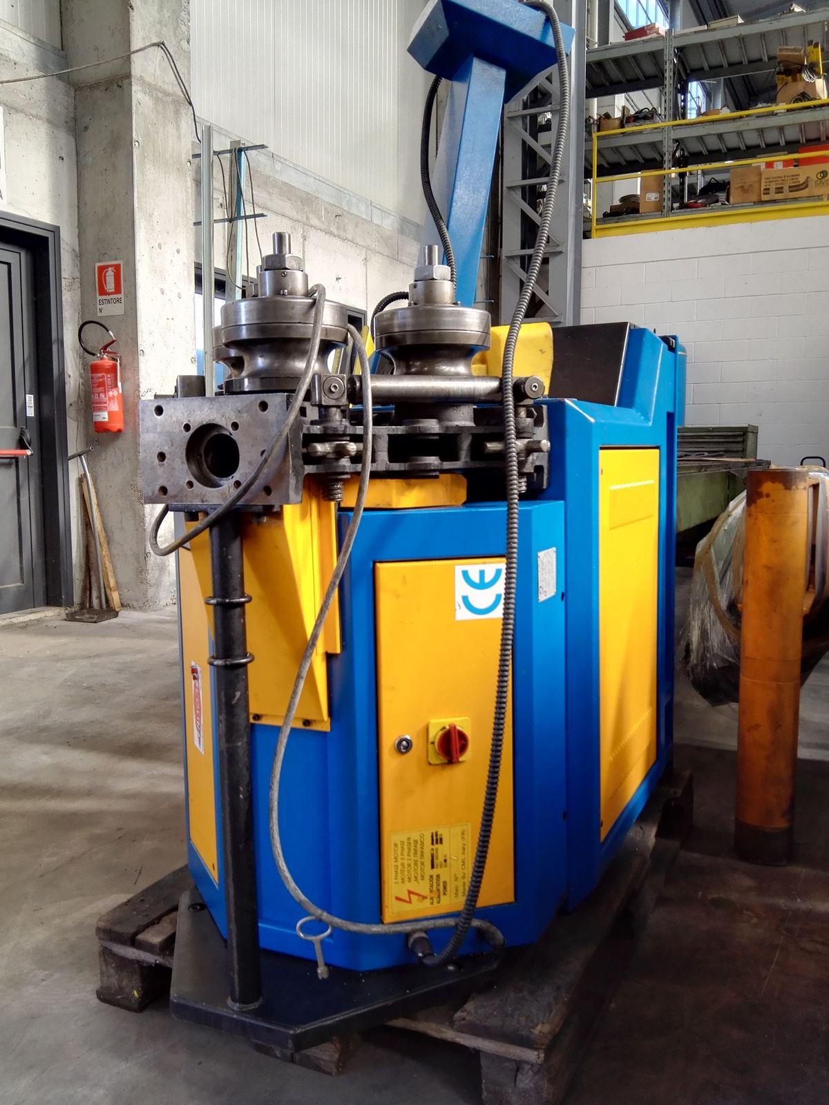 Curvadora de tubo ercolina 50 h3 maquinas de segunda mano for Curvadora de tubos segunda mano