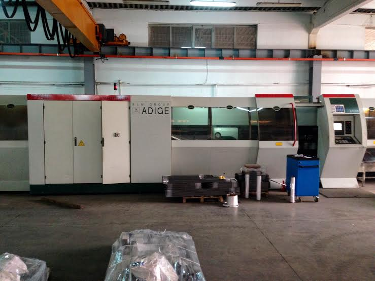 BLM Adige LT 712 D laser cutting machine - Exapro