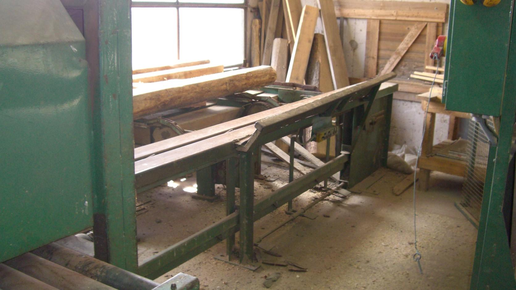 Sierra de madera schumacher sch35 3 maquinas de segunda - Sierra de mano para madera ...