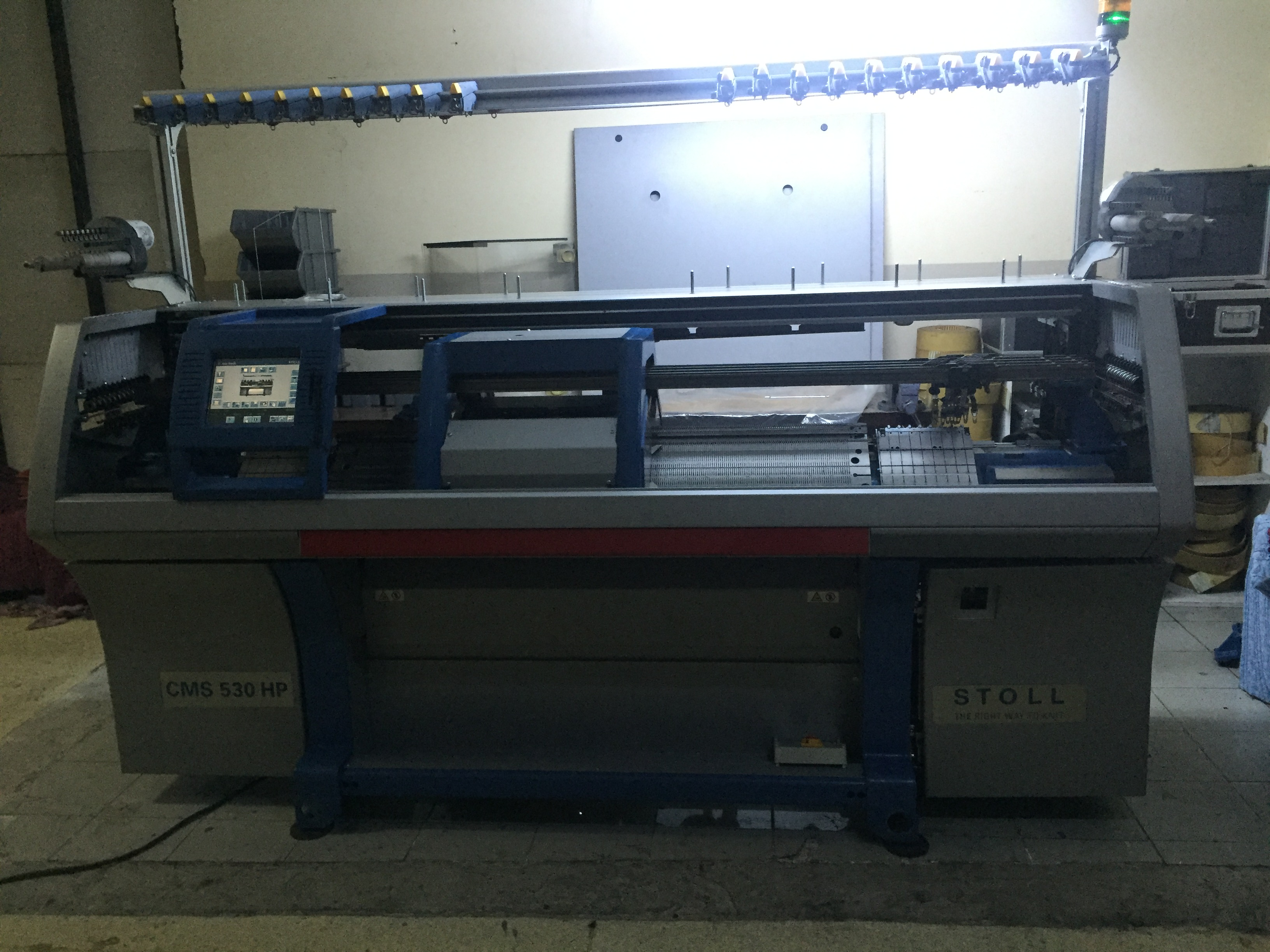 Stoll CMS 530 HP Flat knitting machine - Exapro
