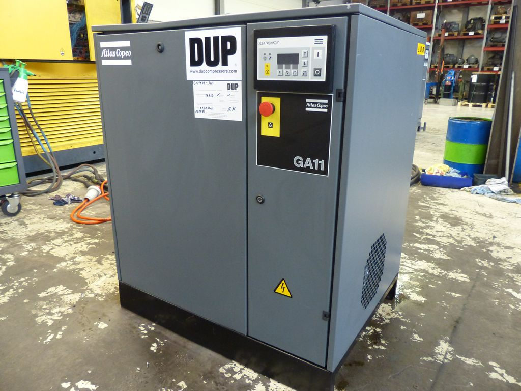 Atlas Copco GA 11 FF Oiled screw compressor - Exapro