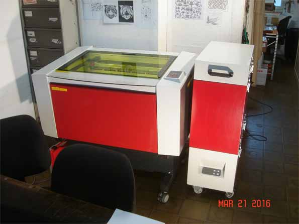 trotec fine marker fp300 laser cutting machine exapro. Black Bedroom Furniture Sets. Home Design Ideas