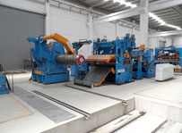 Novastilmec Cut to length line 1600/ 0.5-3 with flying shear Other sheetmetal machinery