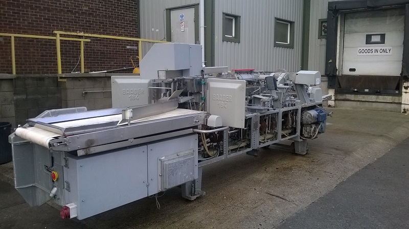 Used baader 184 skinning and filleting machine exapro for Fish fillet machine