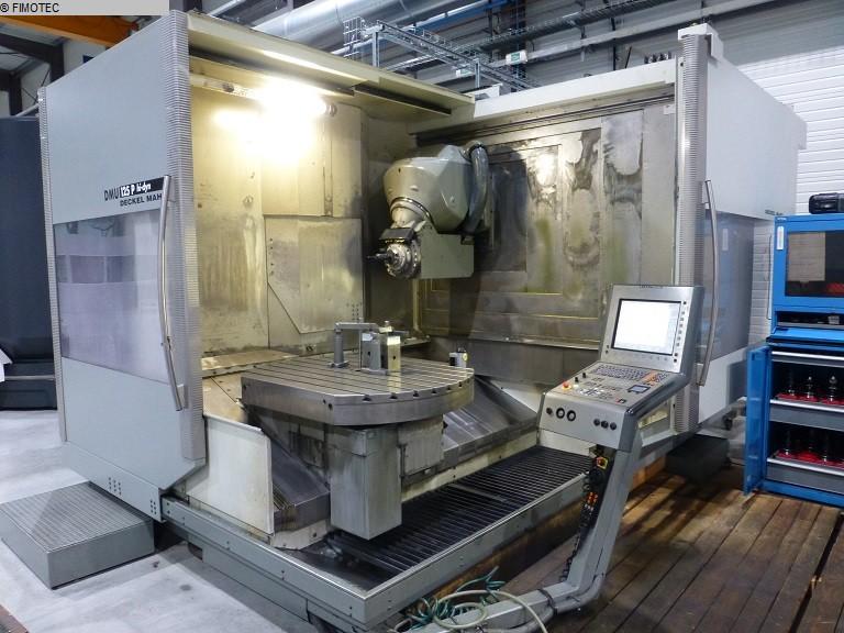 Dmg deckel maho dmu 80 p duoblock machining center 5 for Dmg deckel maho