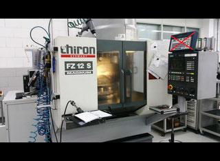 used chiron fz 12 s magnum machining center vertical exapro rh exapro com Yamaha FZ S 2013 Yamaha FZ Latest Model