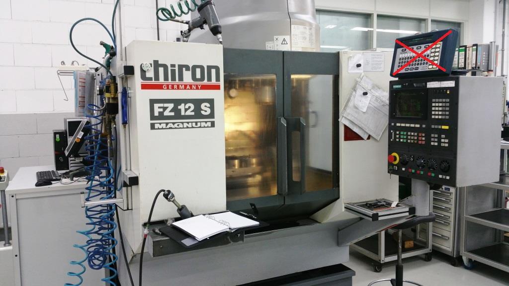 used chiron fz 12 s magnum machining center vertical exapro rh exapro com FZ Battle Green Yamaha FZ S 2013