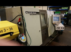 Used Gildemeister CTX 320 linear V5 cnc lathe