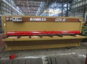 Cizalla guillotina hidráulica BOMBLED GTS2