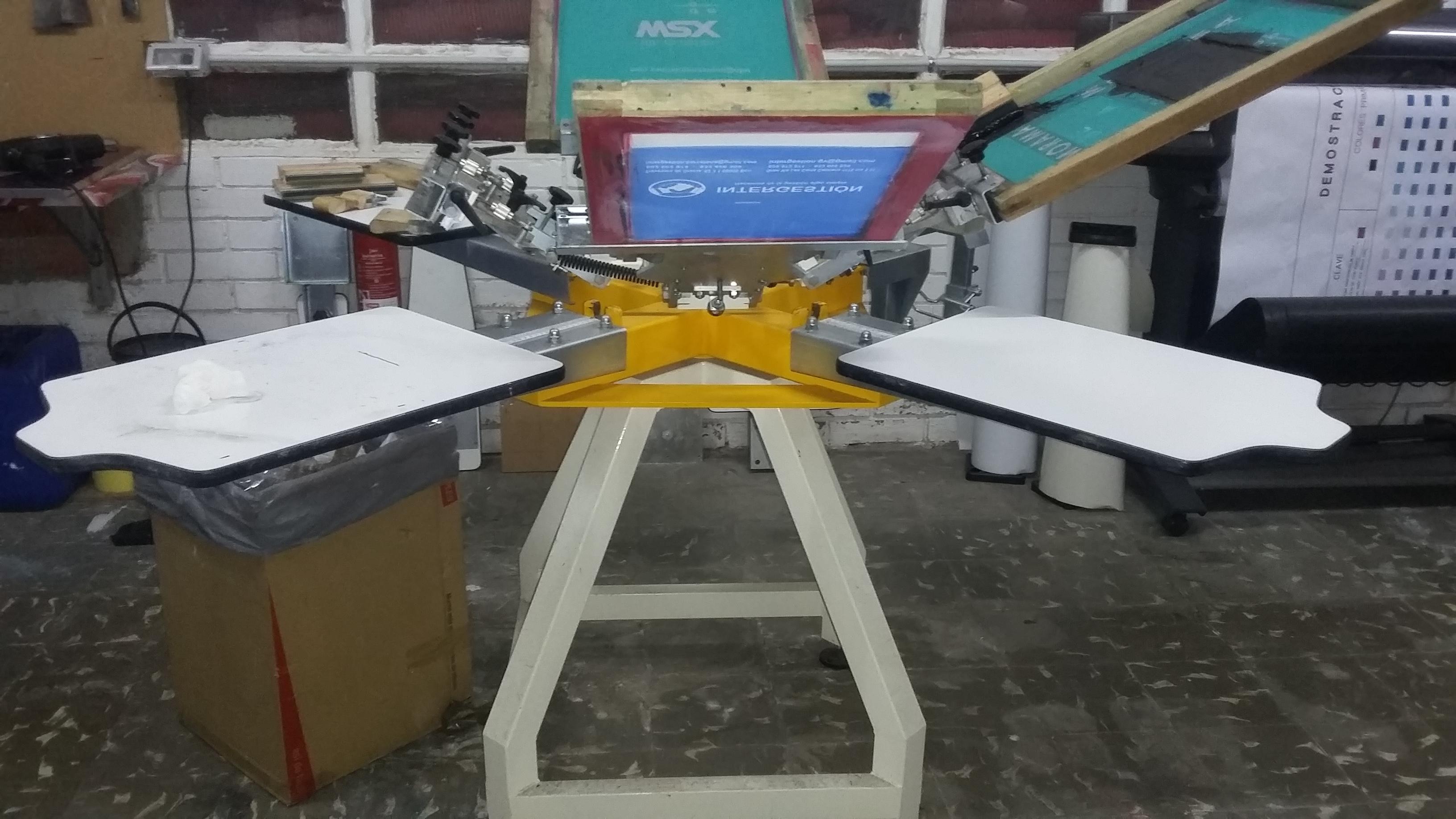 SPE PULPO SERIGRAFIA Textile press - Exapro